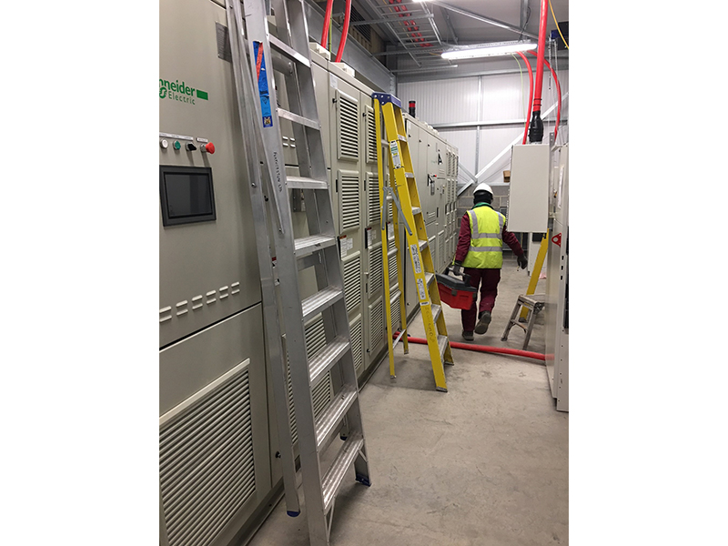 11kv variable speed drive install 1