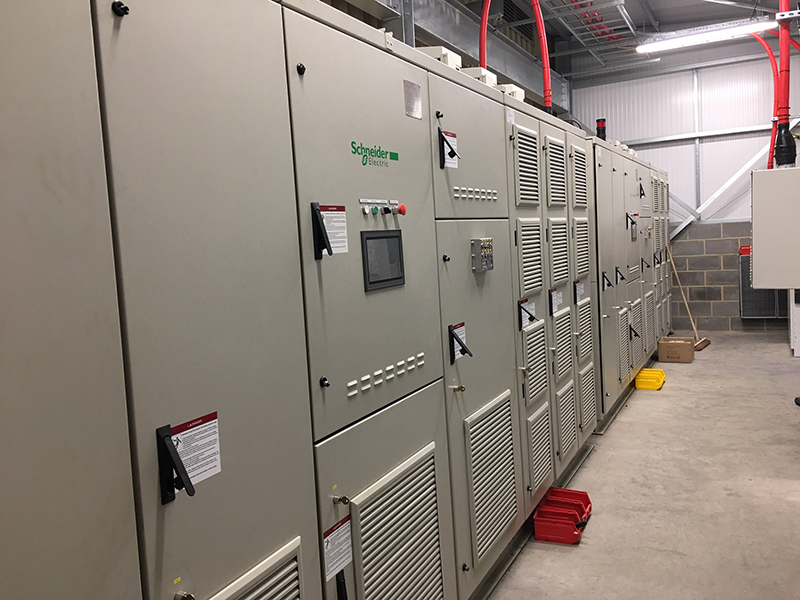 11kv variable speed drive install 2