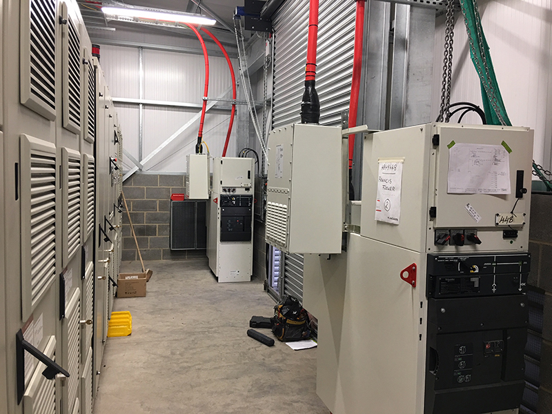 11kv variable speed drive install 4