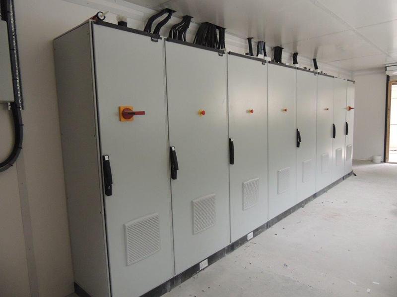 Panel room grain handling